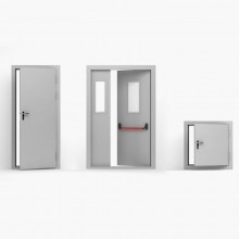 Fire-resistant door Deco FP